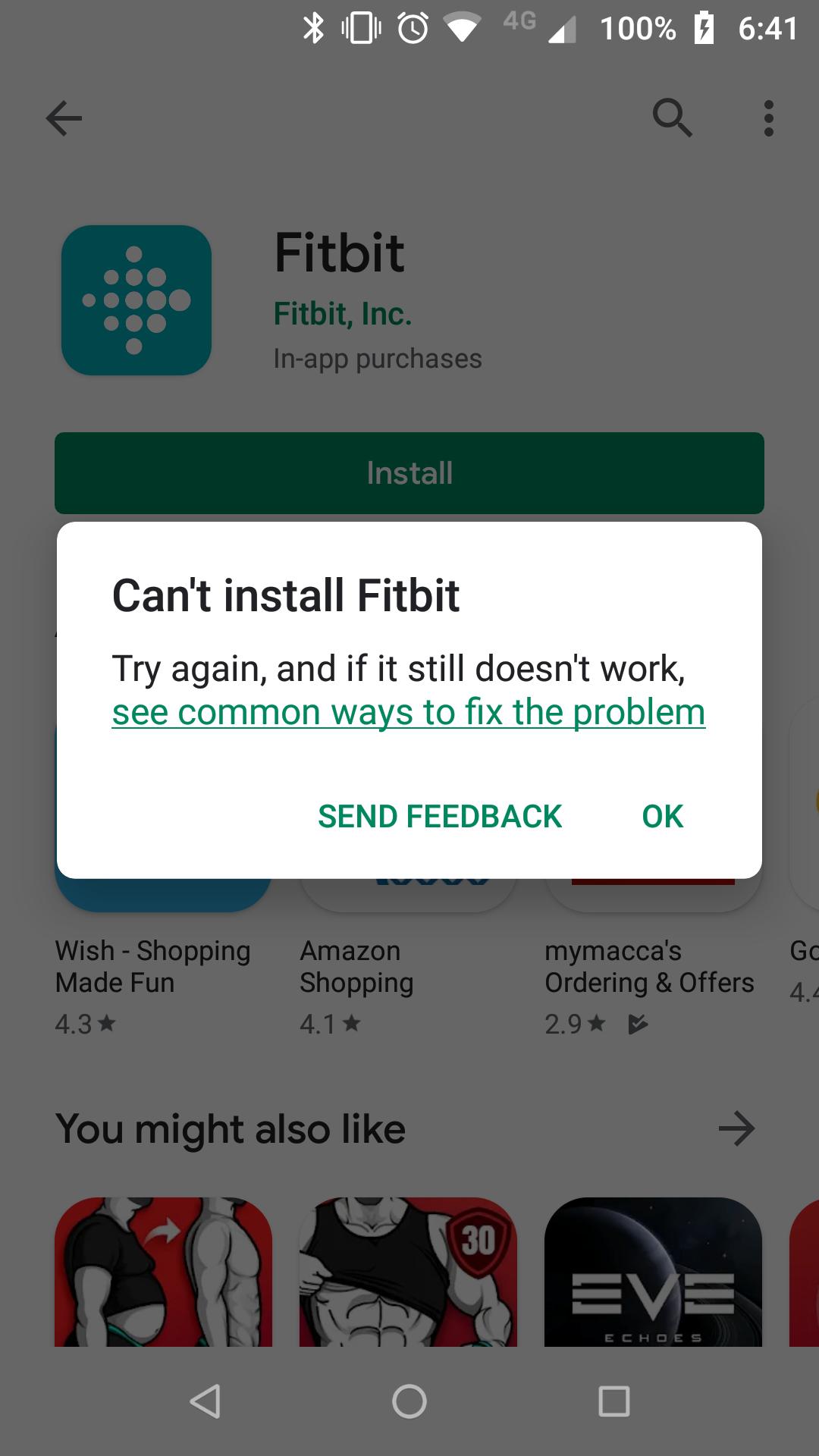 Fitbit App Won T Download Fitbit Community