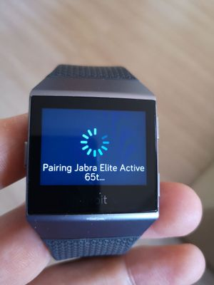 Solved Jabra Elite Active 65t Not Connecting With Device Fitbit Community