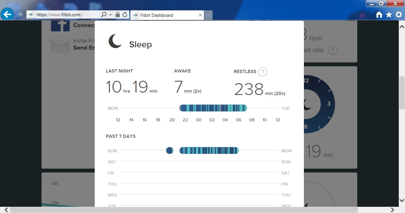 Please show me your sleep pattern (both good and p    - Page