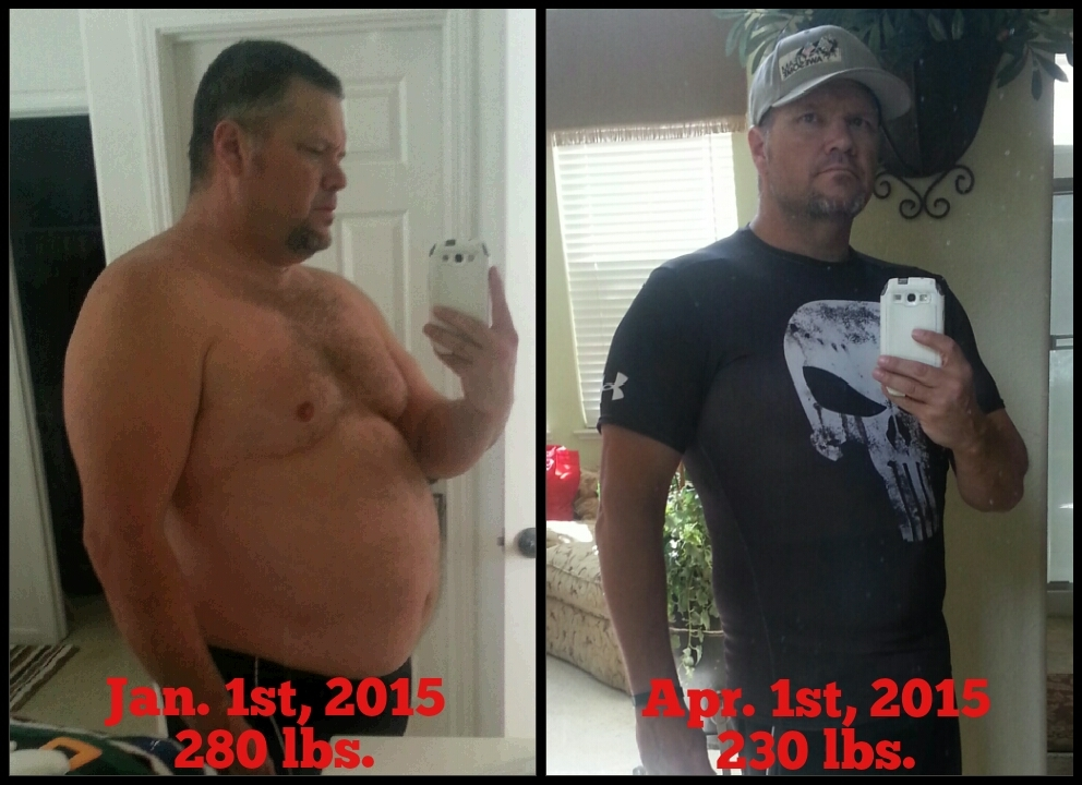 I lost 50 pounds in a little less than 3 months! - Fitbit
