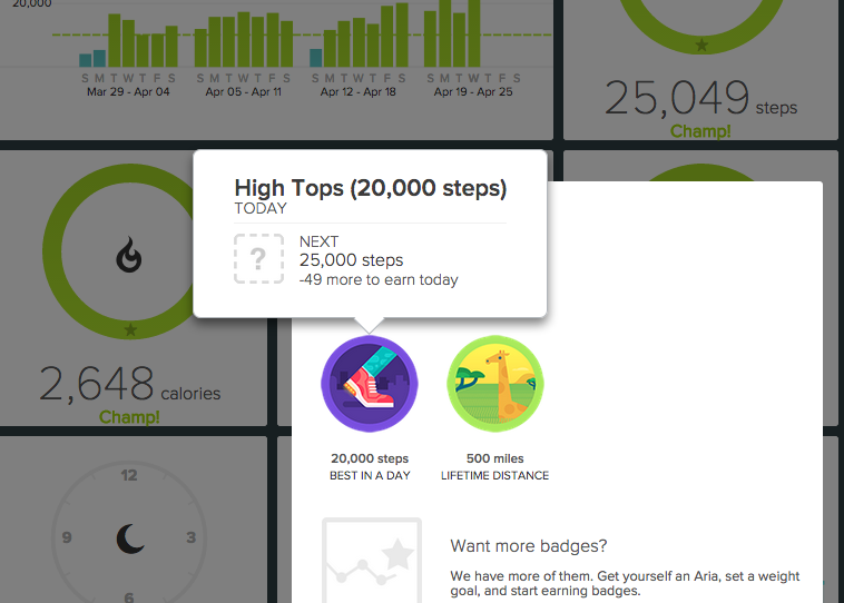 how to add steps to my fitbit dashboard