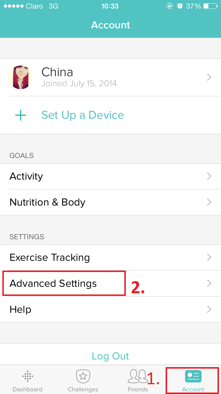 how to change time on fitbit zip