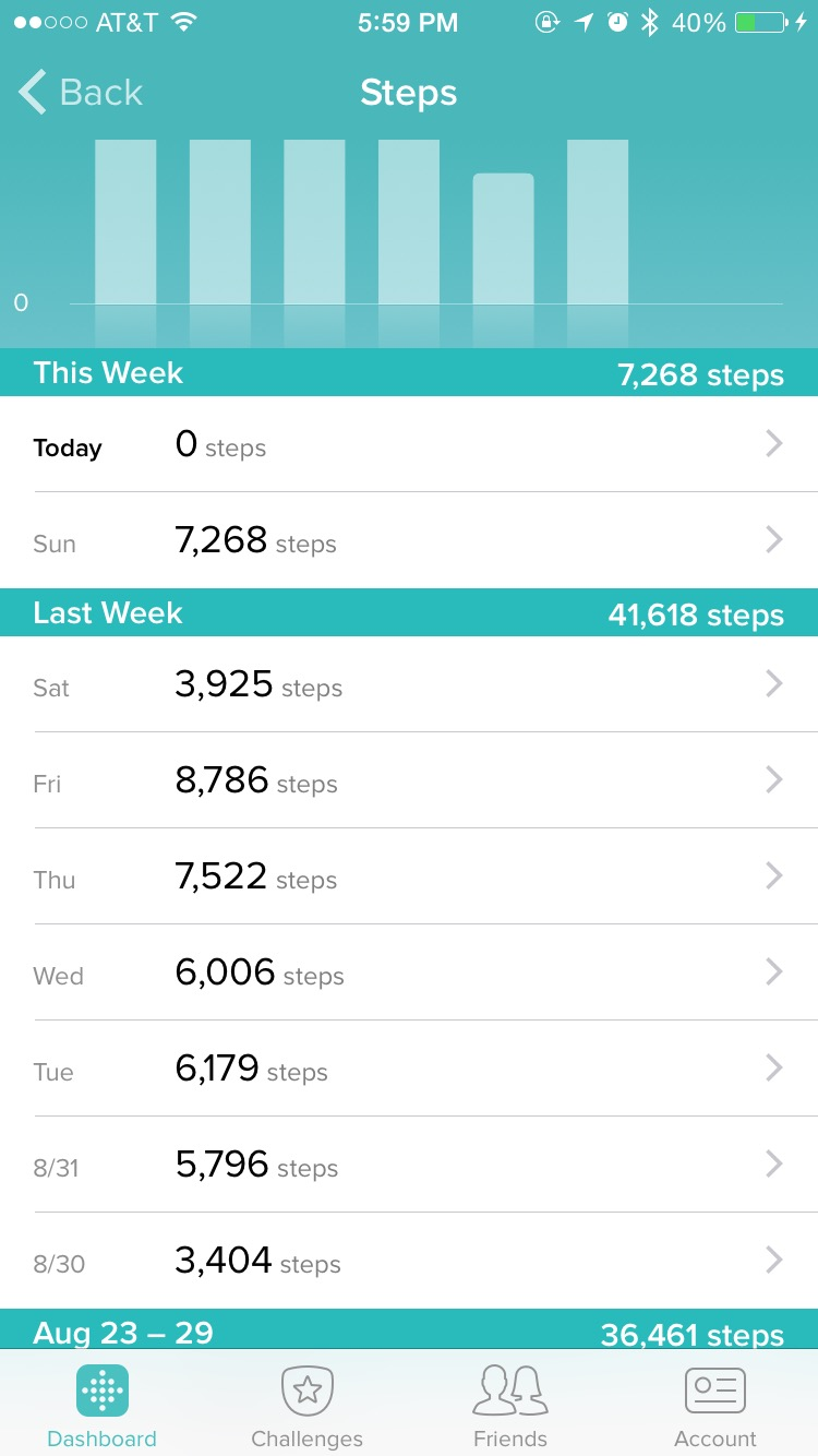 can i manually enter steps on fitbit
