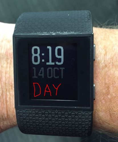 Day Of The Week On Digital Clock Face Fitbit Community