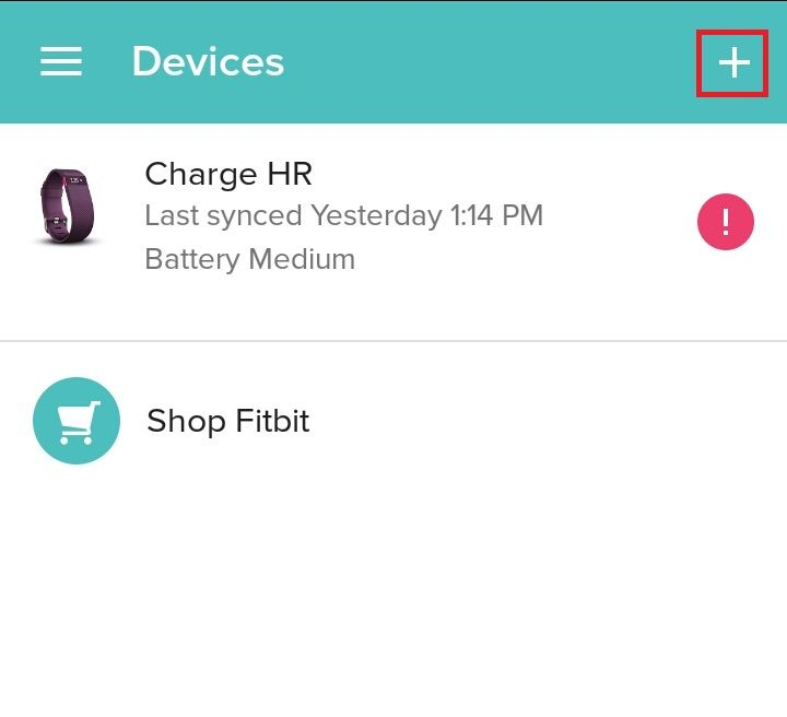 how to add device to fitbit account