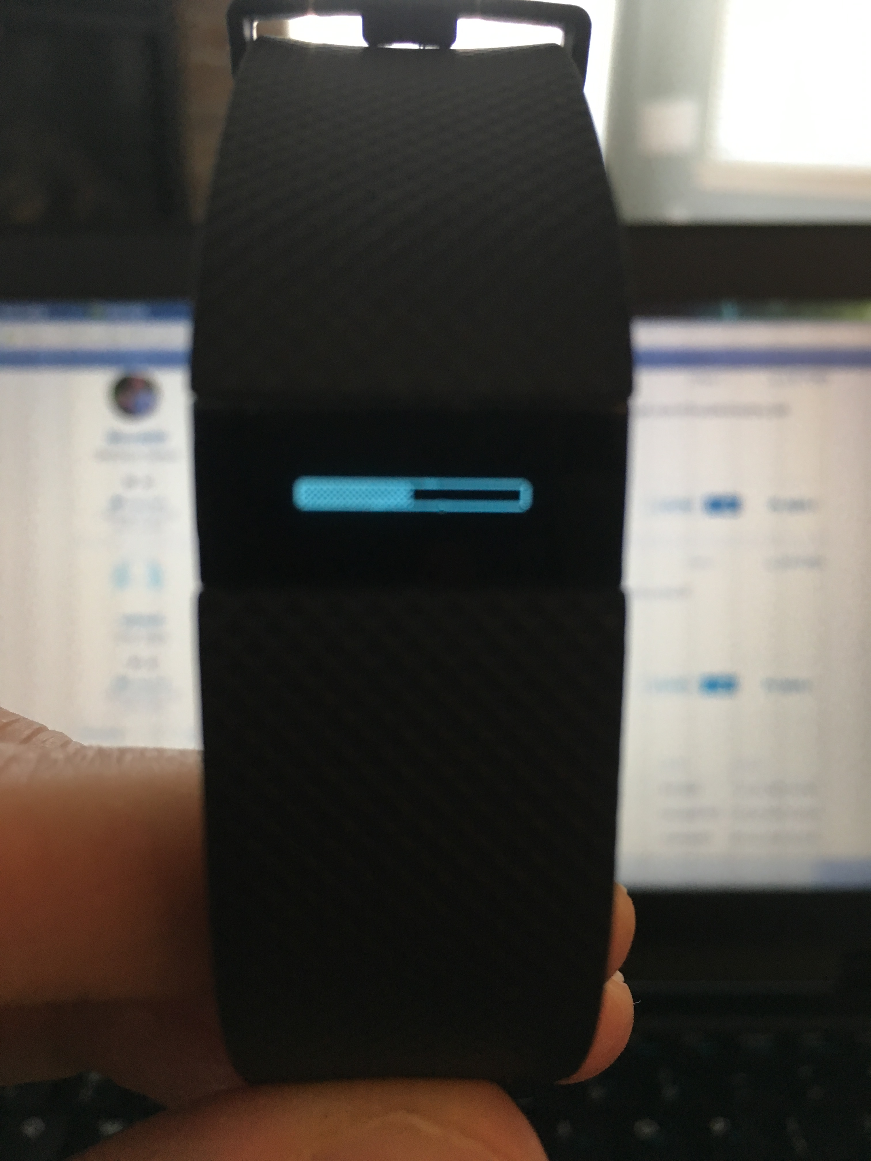 Solved Charge Hr Frozen Progress Bar Fitbit Community