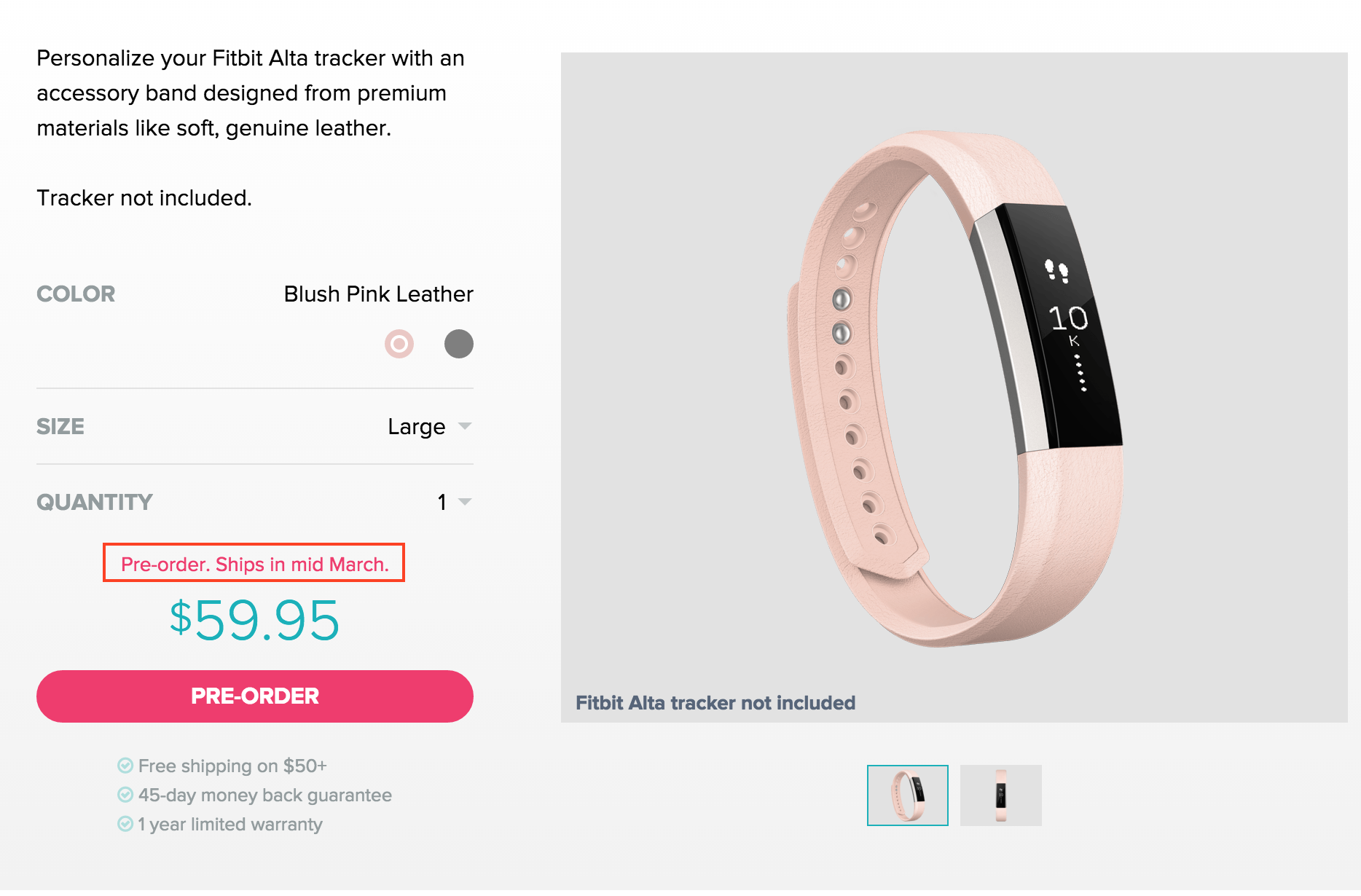 Alta Band Size Fitbit Community