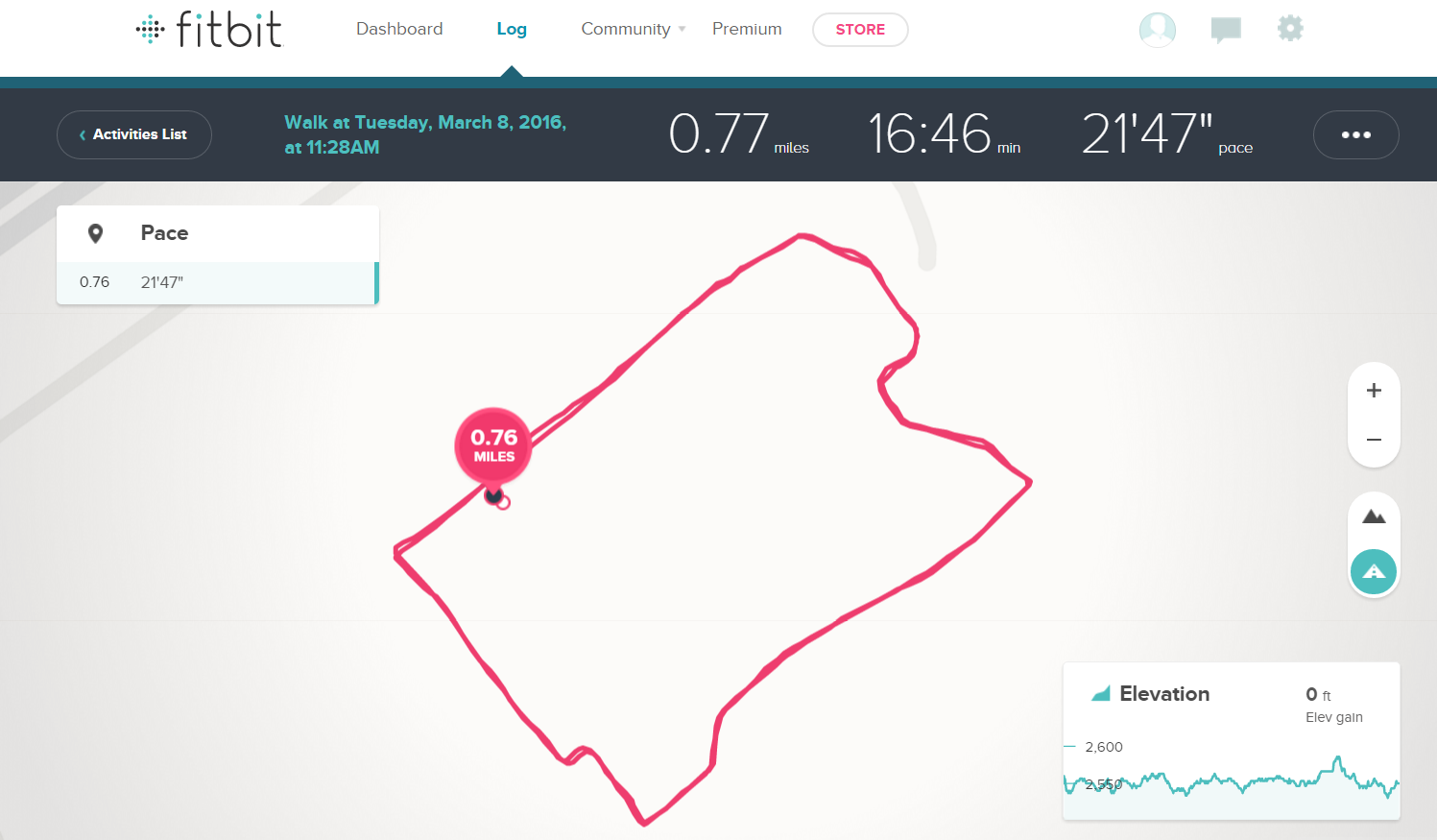 Blaze Distance Measurement Is Inaccurate Page Fitbit Community - Map my distance