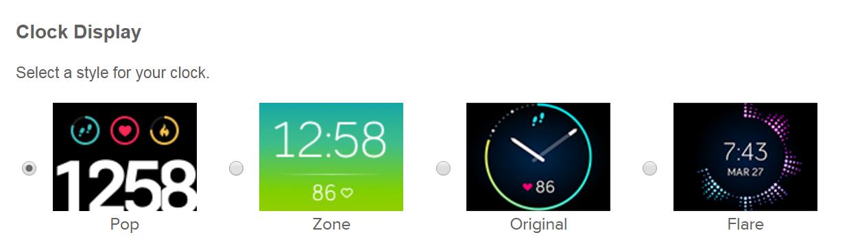 Solved Blaze Clock Faces Fitbit Community