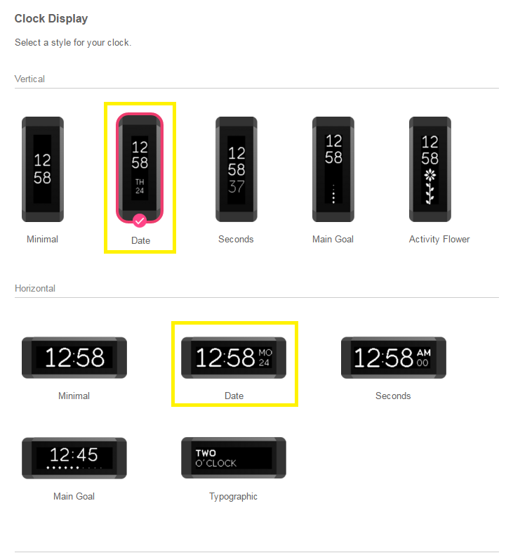 Solved The Date On Display Hay Disappeared Fitbit Community
