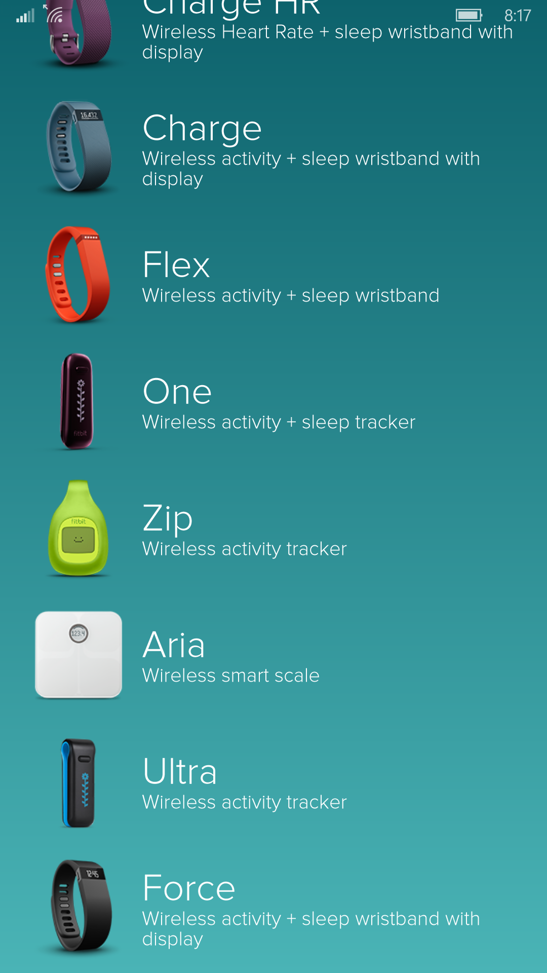 how to set up mobile track fitbit