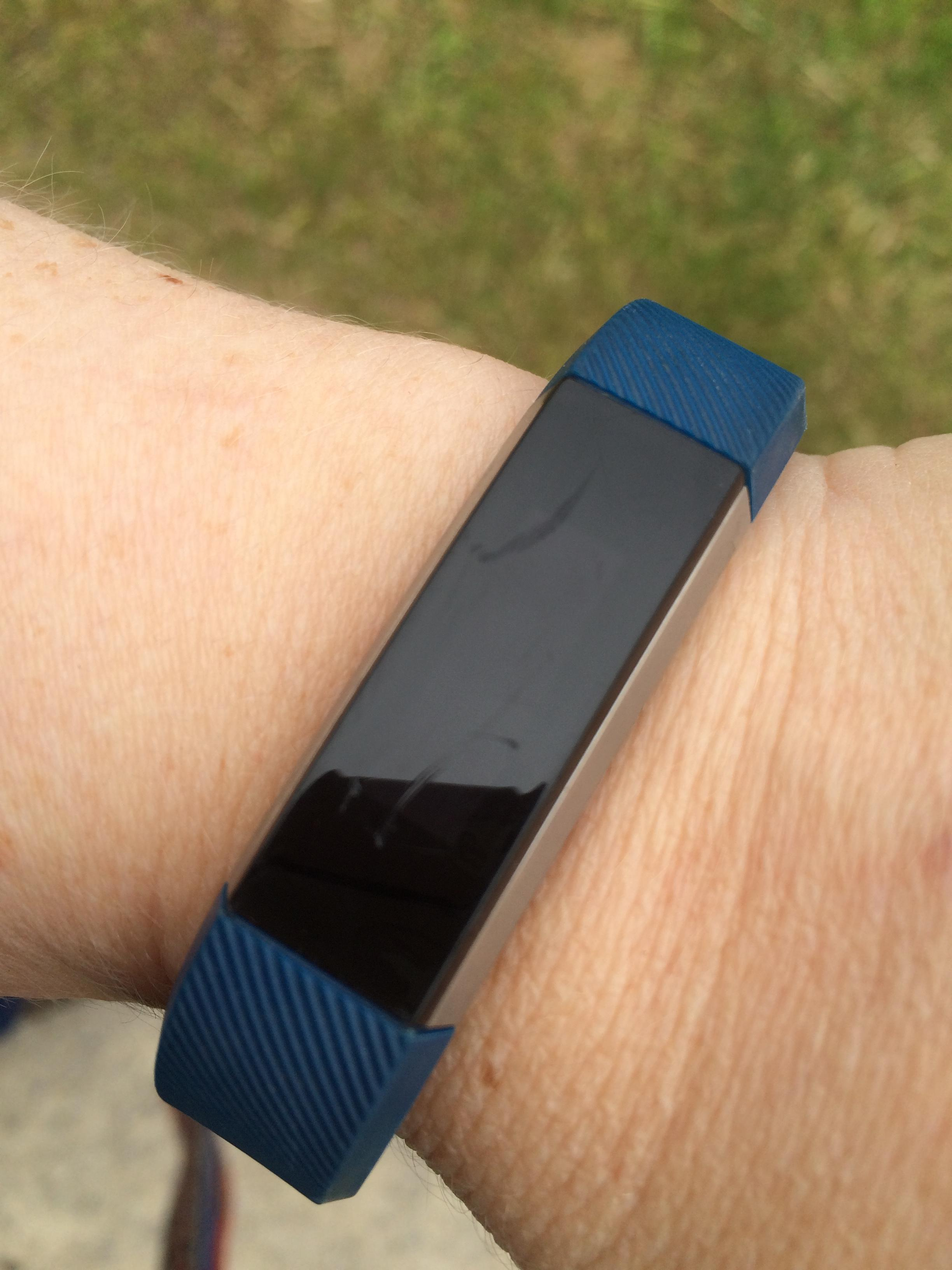 Solved: Scratched Alta Screen - screen replacement? - Fitbit Community