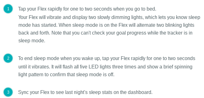Solved Flex Not Showing Sleep Fitbit Community