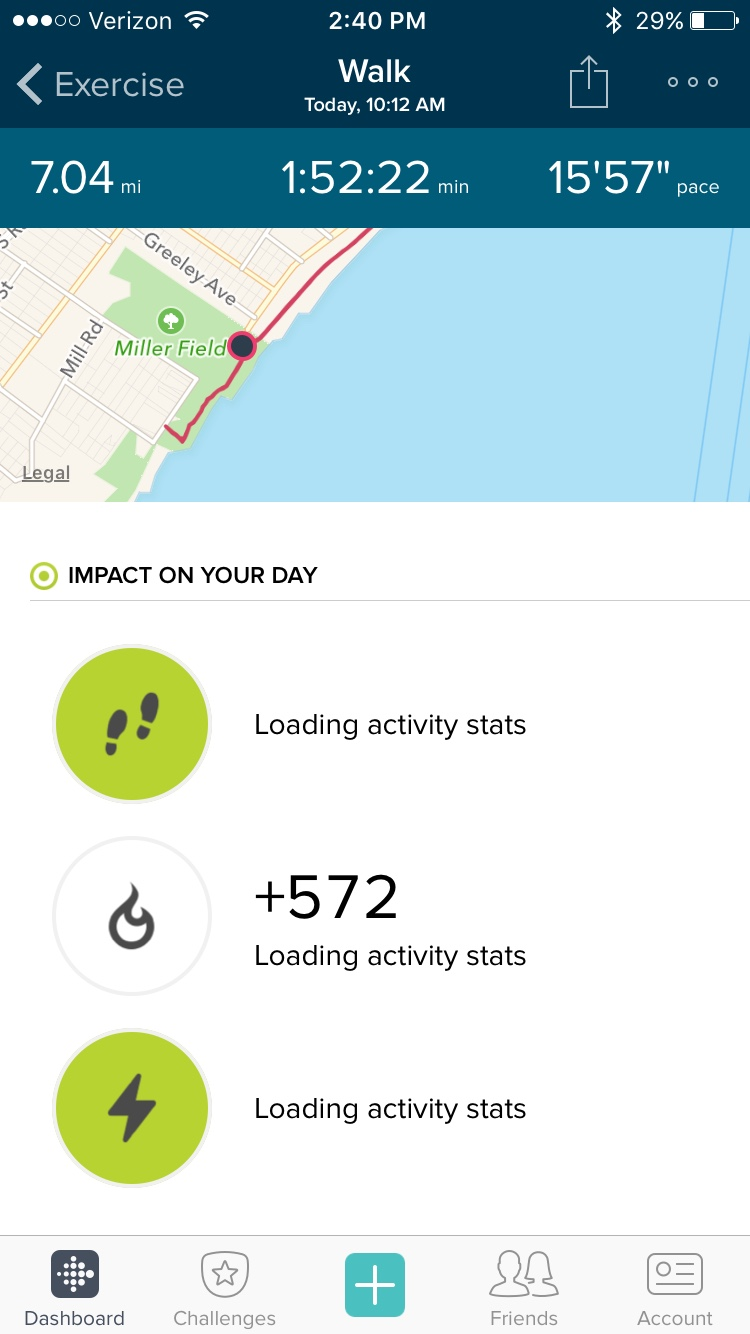 iOS Exercise Log Not Updating - Page 7 - Fitbit Community
