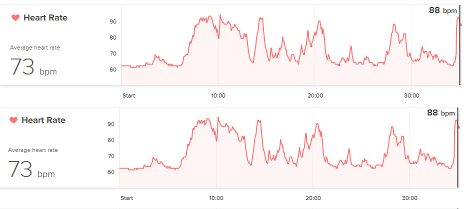 Solved heart rate graph fitbit community ccuart Gallery