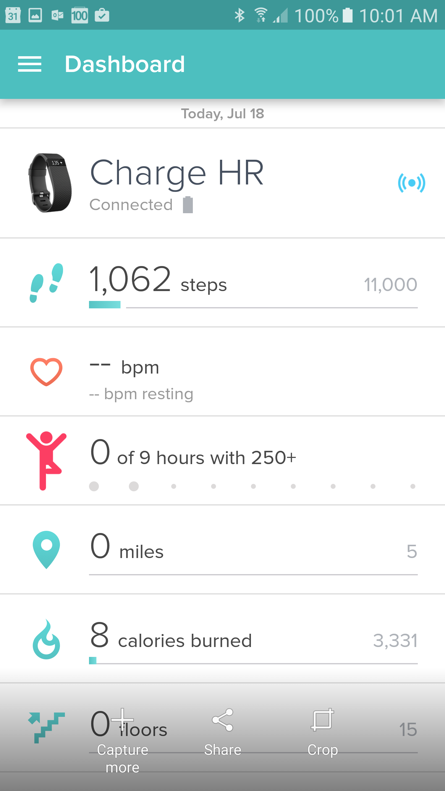 how to add steps back to fitbit dashboard