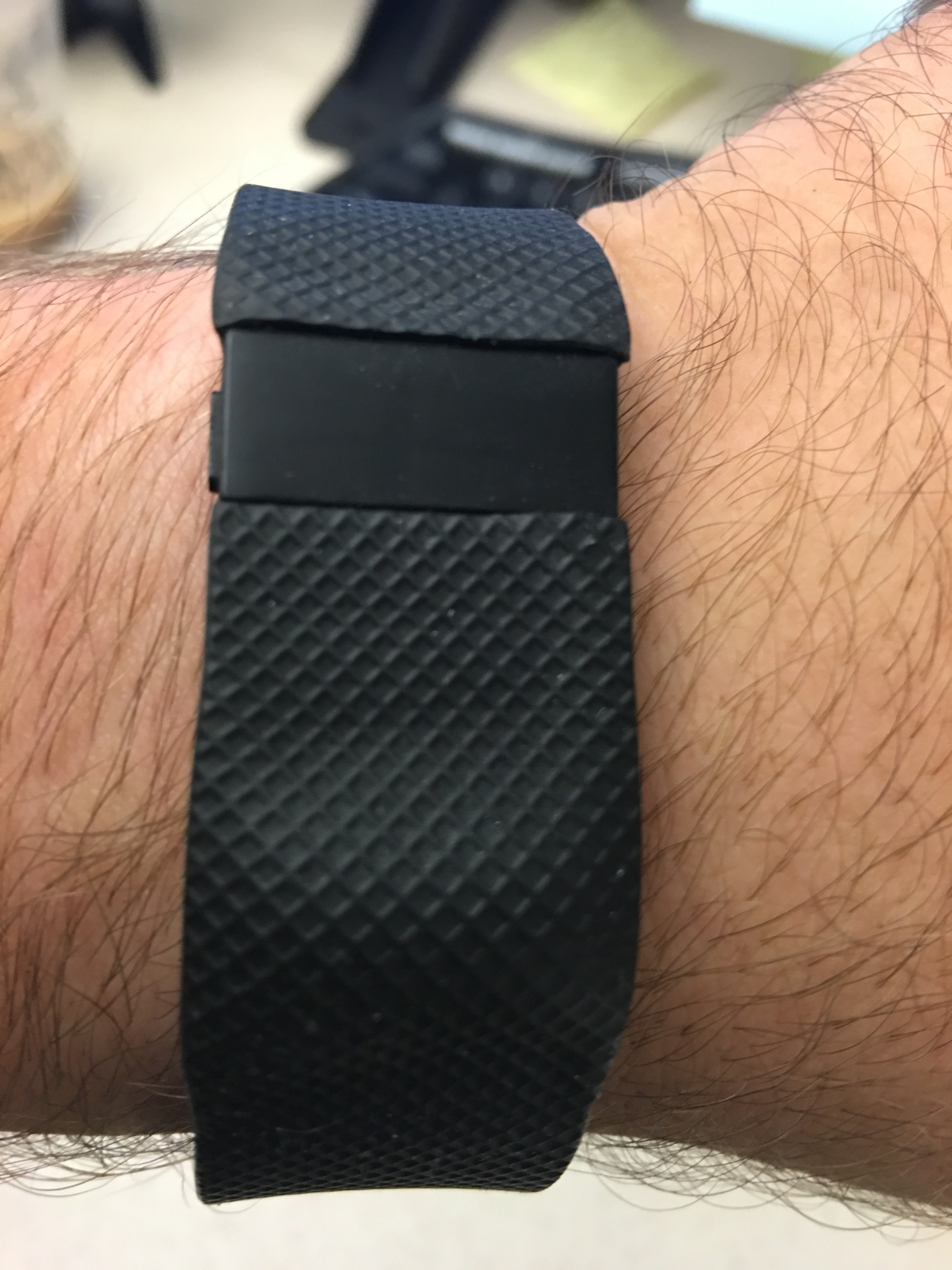 how to fix a fitbit bubble