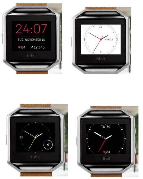 How to change the clock on my fitbit blaze