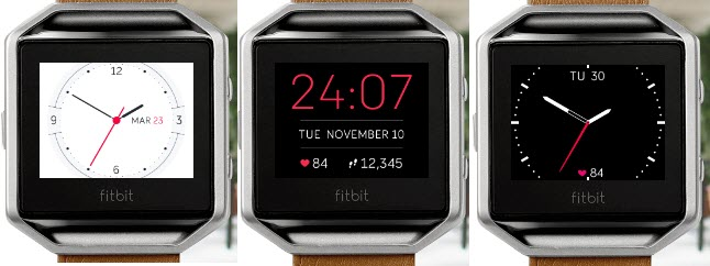 how to download new clock faces on fitbit surge