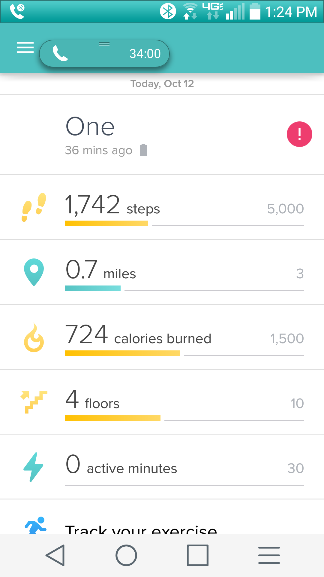 Fitbit One rejects bluetooth pairing - Fitbit Community