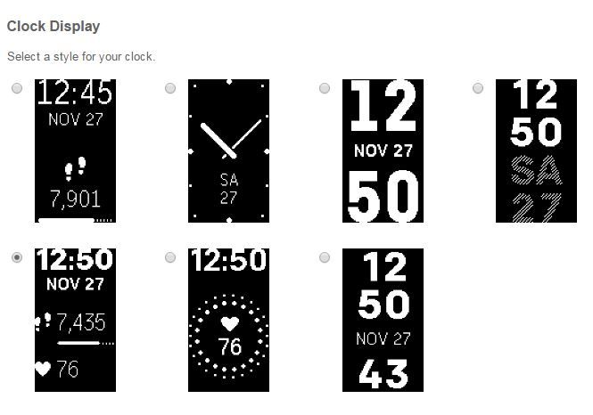 Can T Change Clock Face Fitbit Community