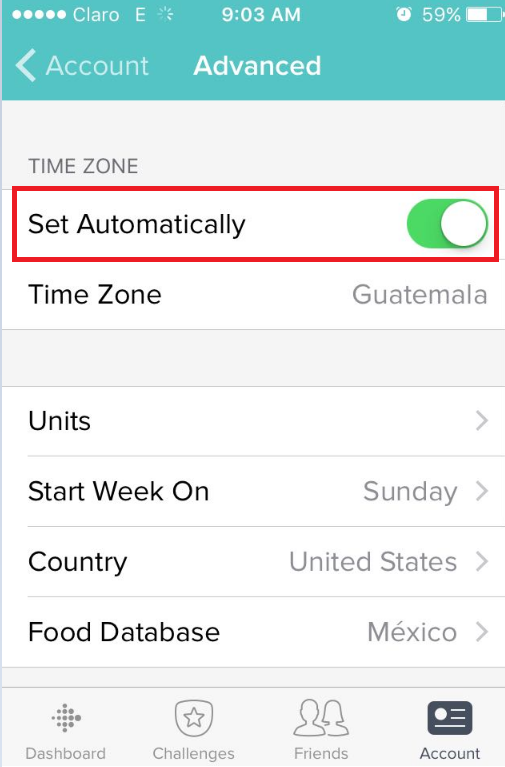 do iphones automatically change time zones charge 2 won t sync time fitbit community 18380