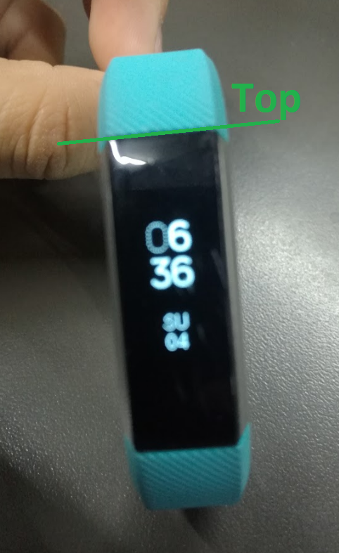 Rotate Alta screen orientation? - Fitbit Community