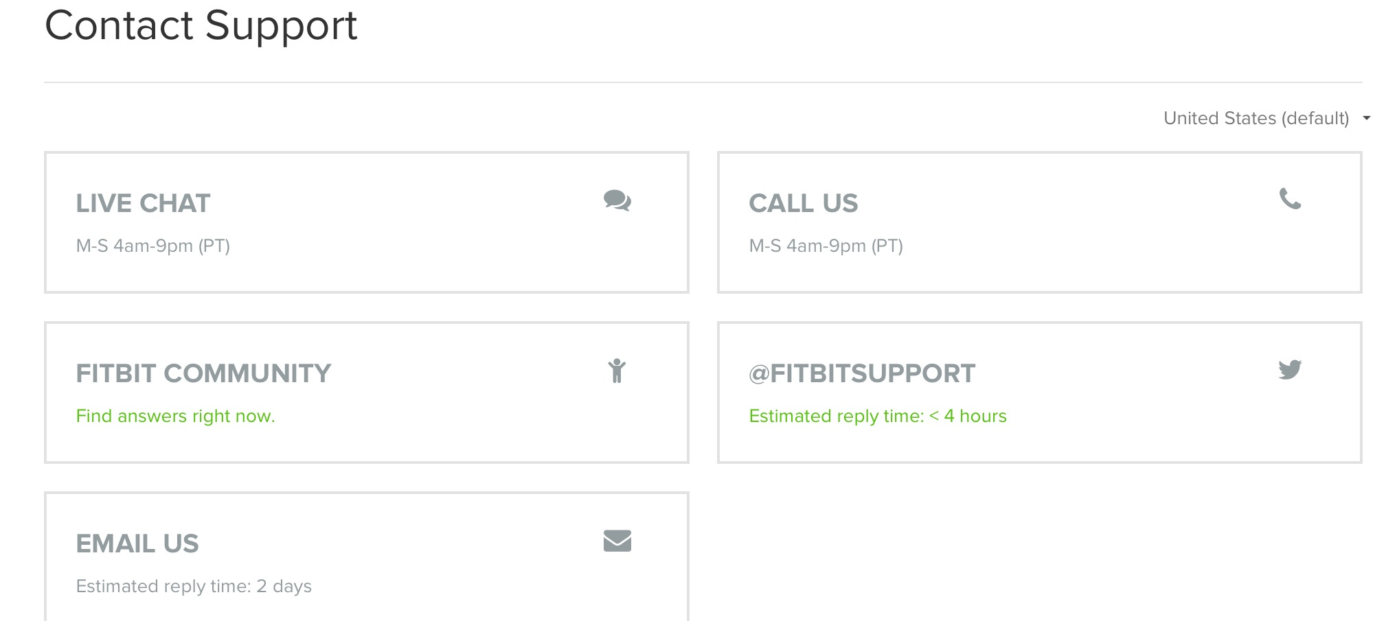 Live chat  Where has live chat gone? - Fitbit Community