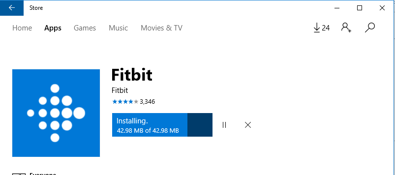 Can't get Windows 10 app - Fitbit Community