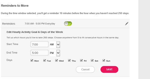 ifttt - 250 step hourly trigger suggestion for fit - fitbit community