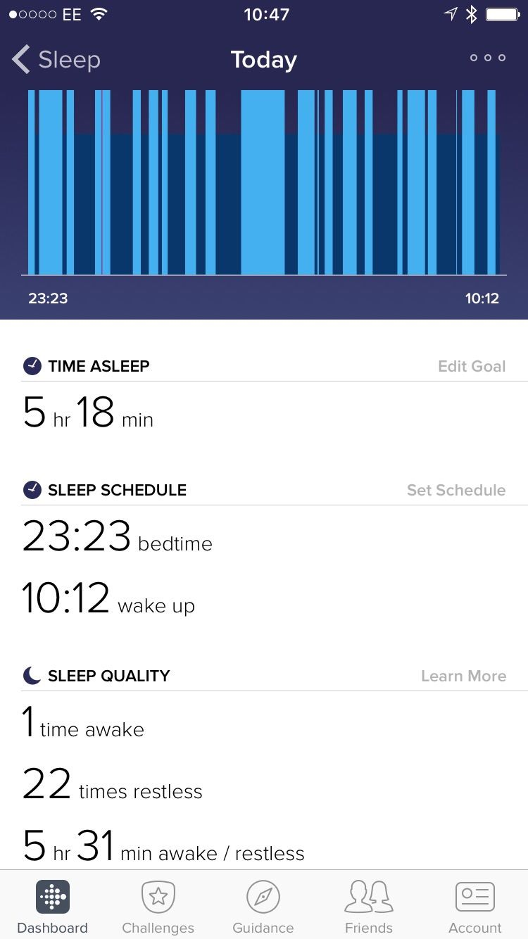 Inaccurate Sleep Log? Change your settings! - Fitbit Community