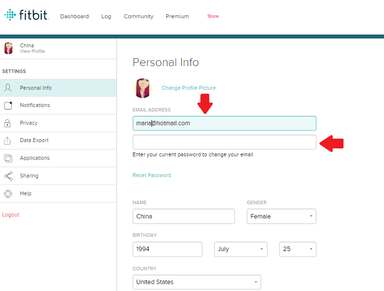 Solved: How do I change my Fitbit email account? - Fitbit
