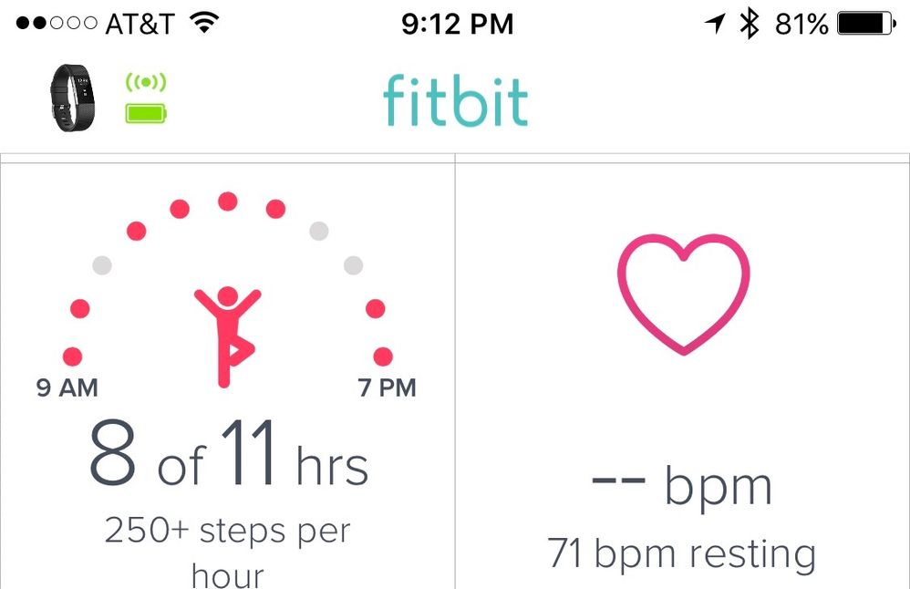 Charge 2 Stop Showing Heart Rate On App And Dashbo Fitbit Community