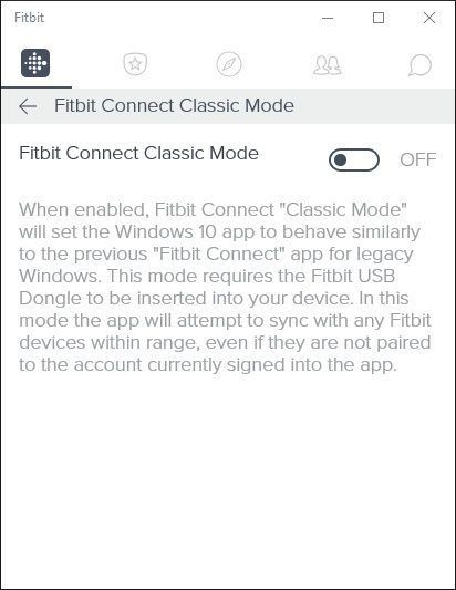 Solved: Windows 10 app can't find dongle - Fitbit Community