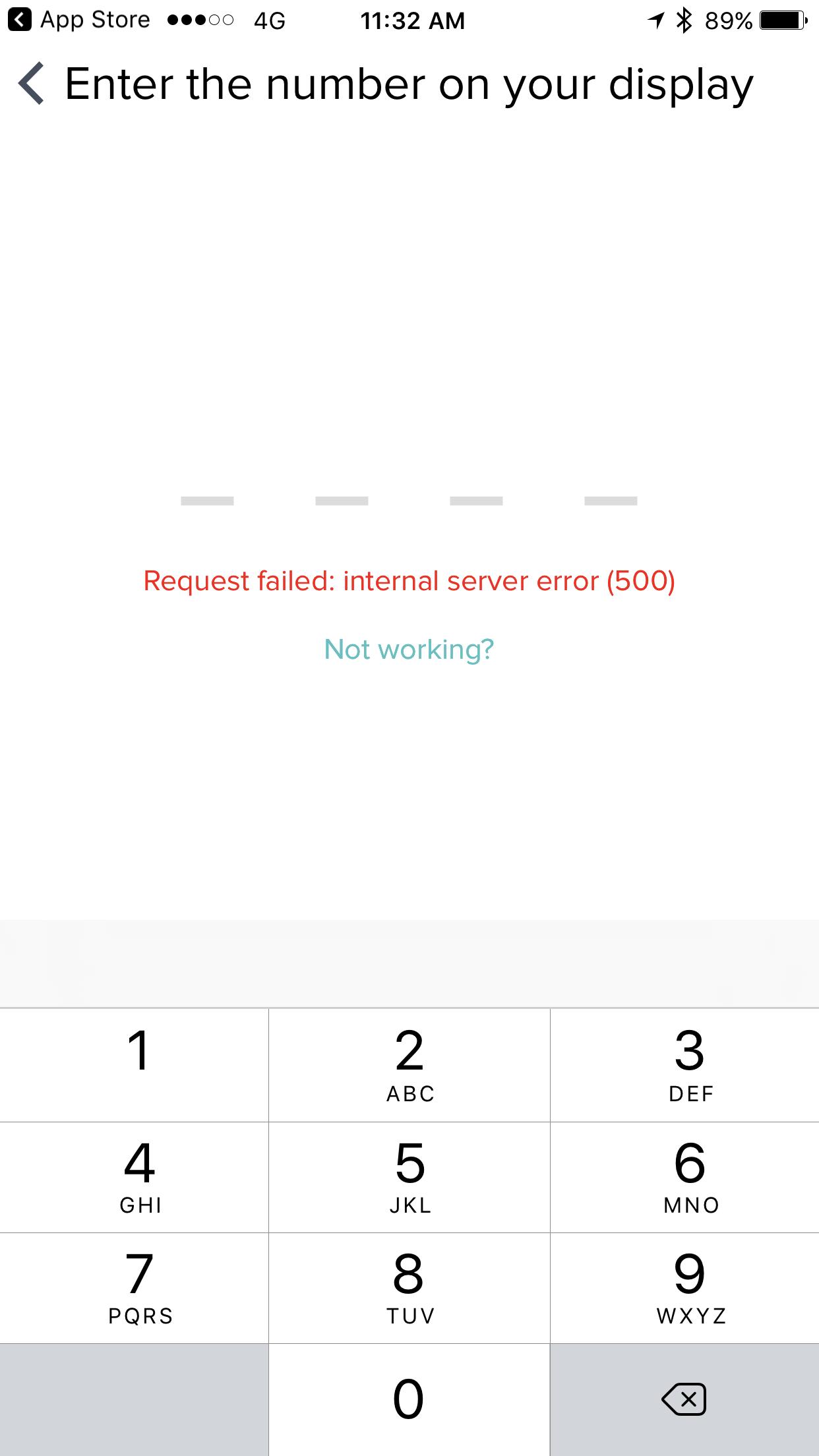 Internal server error 500 - Fitbit Community