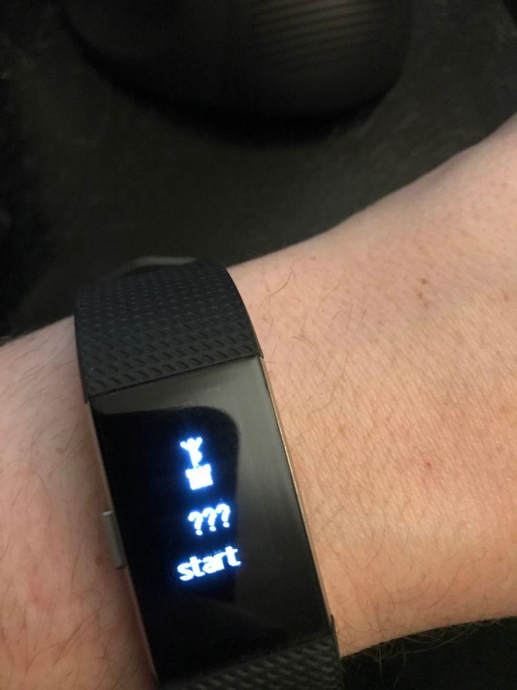 Solved Help Deciphering Symbol Fitbit Community