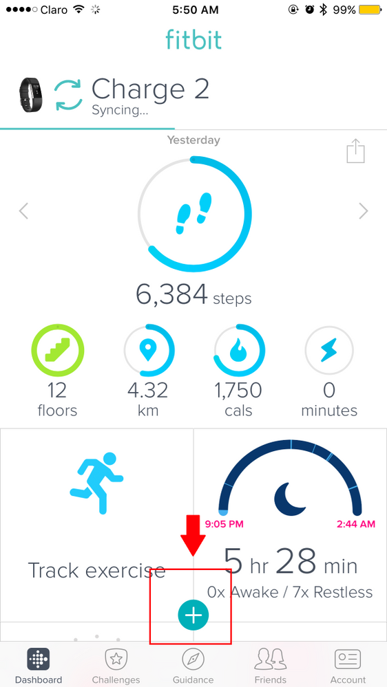 How to add friends on fitbit app