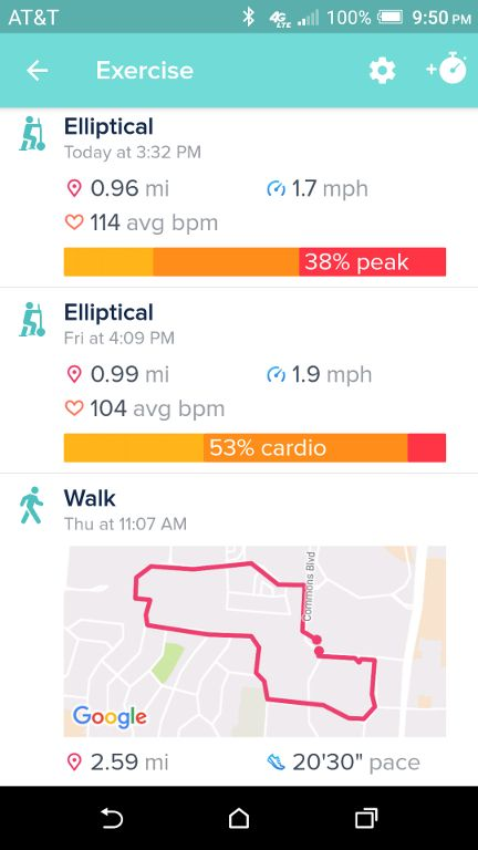 how to add exercise to fitbit app
