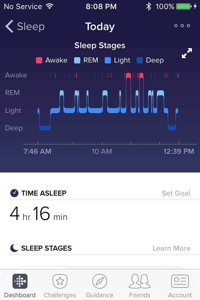 Solved Charge 2 Sleep Stages Fitbit Community