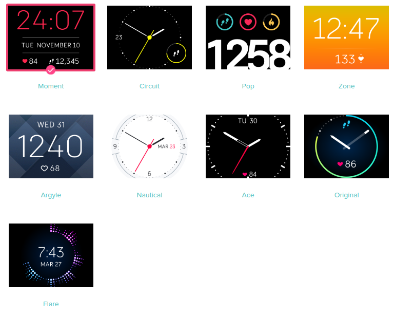 Go Back To Clock Face After Checking Stats Fitbit Community