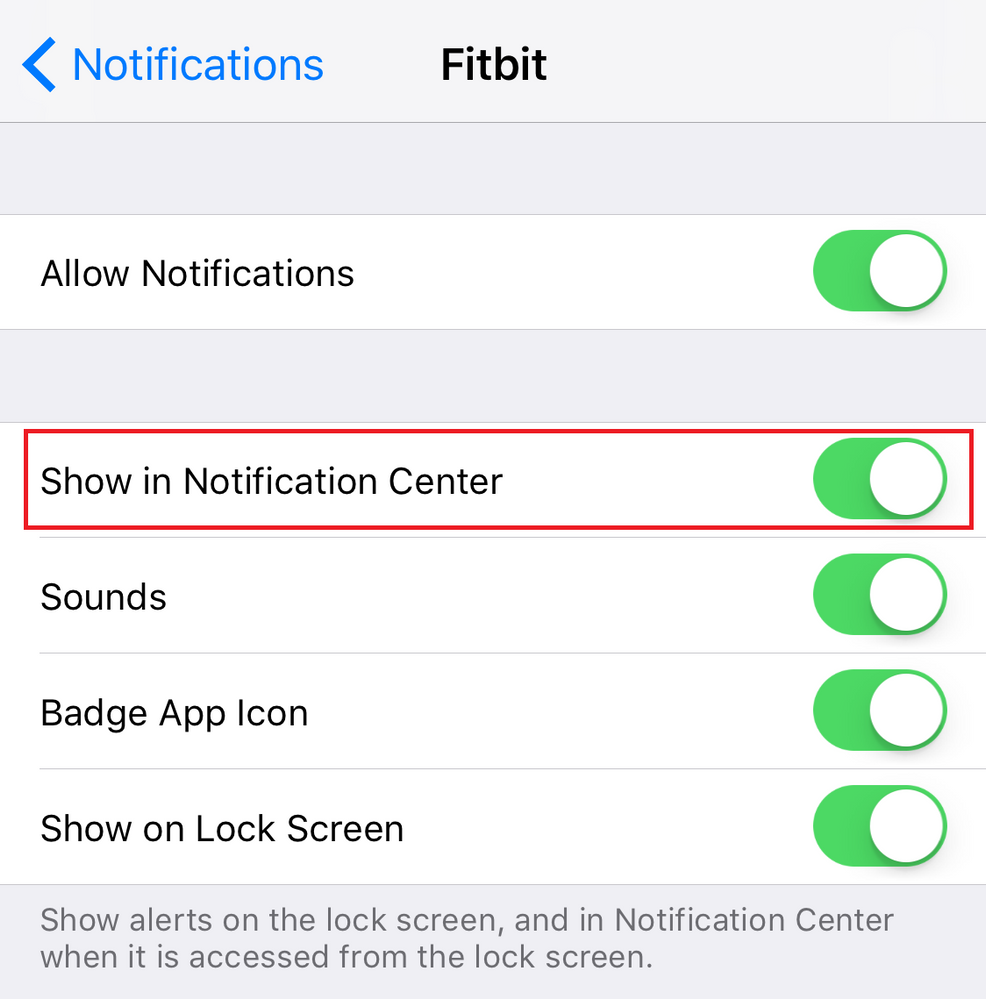 Unable to delete IOS Fitbit app notifications on i ...