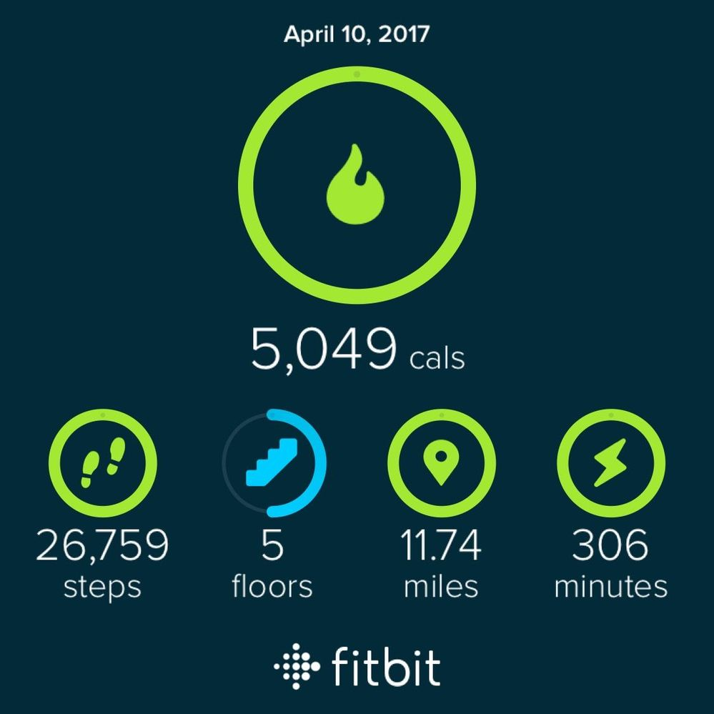 """This is my end of day scorecard for yesterday. For the record, I'm male,  5'7"""", 189 lbs. I woke up at 4:45 am, had some Dunkin Donuts for breakfast  and ..."""