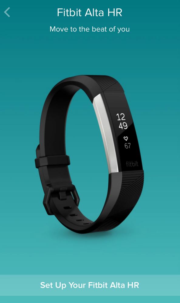 fitbit instructions to set time