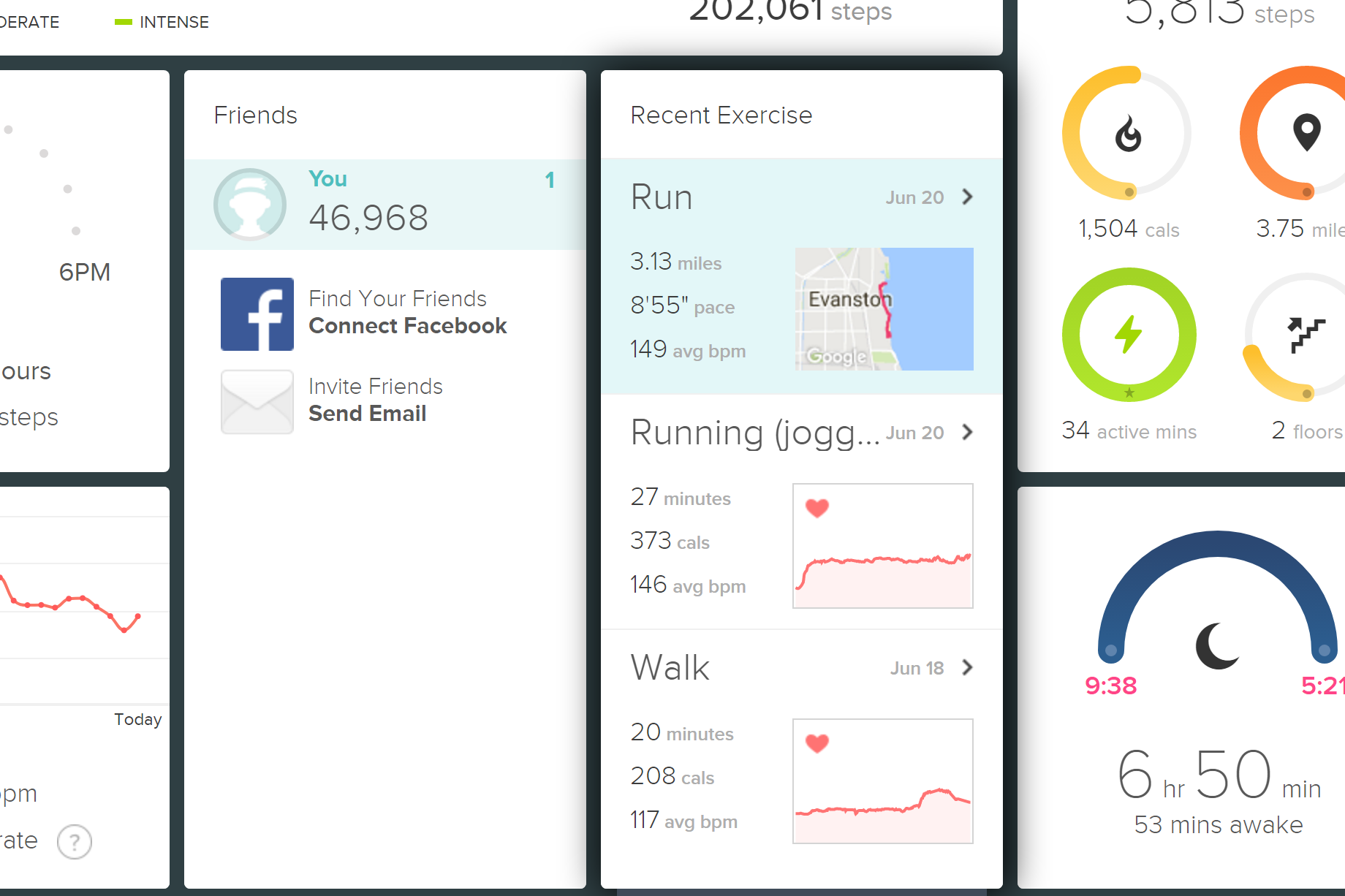 how to add exercise to fitbit blaze