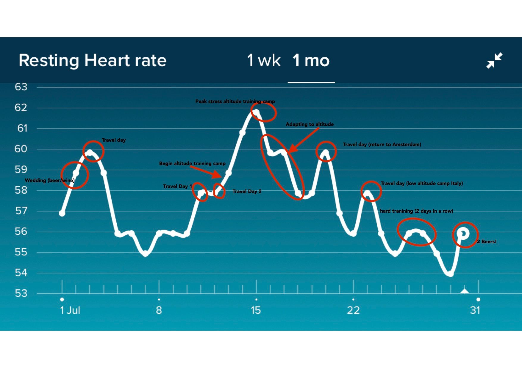 Resting Heart Rate Inaccuracies Fitbit Community