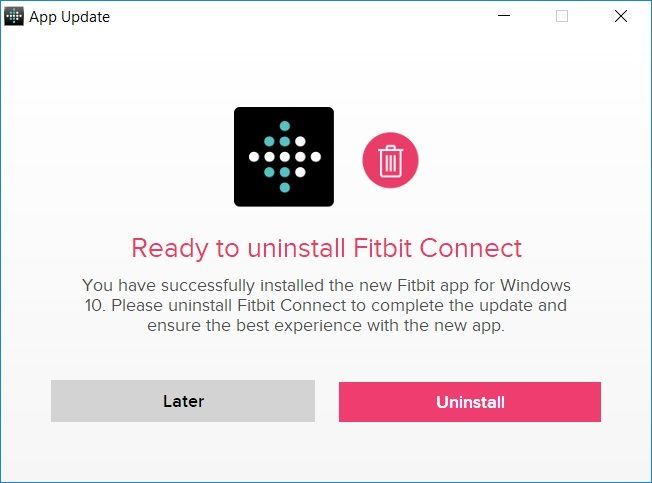 Trouble Installing Windows 10 app - Fitbit Community