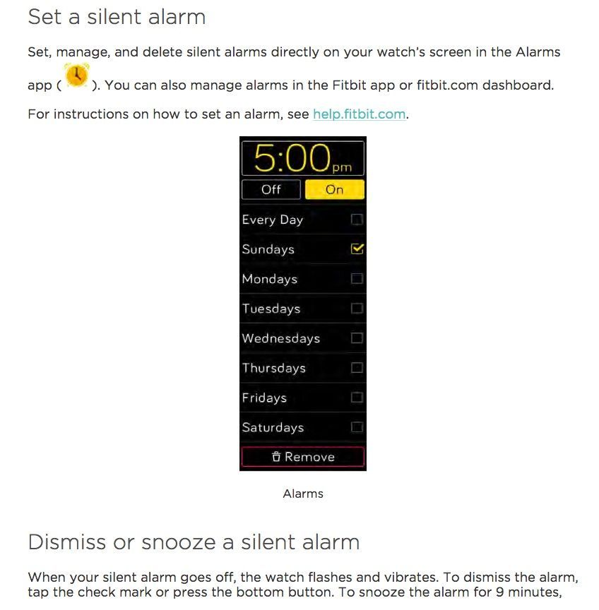 Solved: Does Ionic have smart wake up alarm? - Fitbit Community