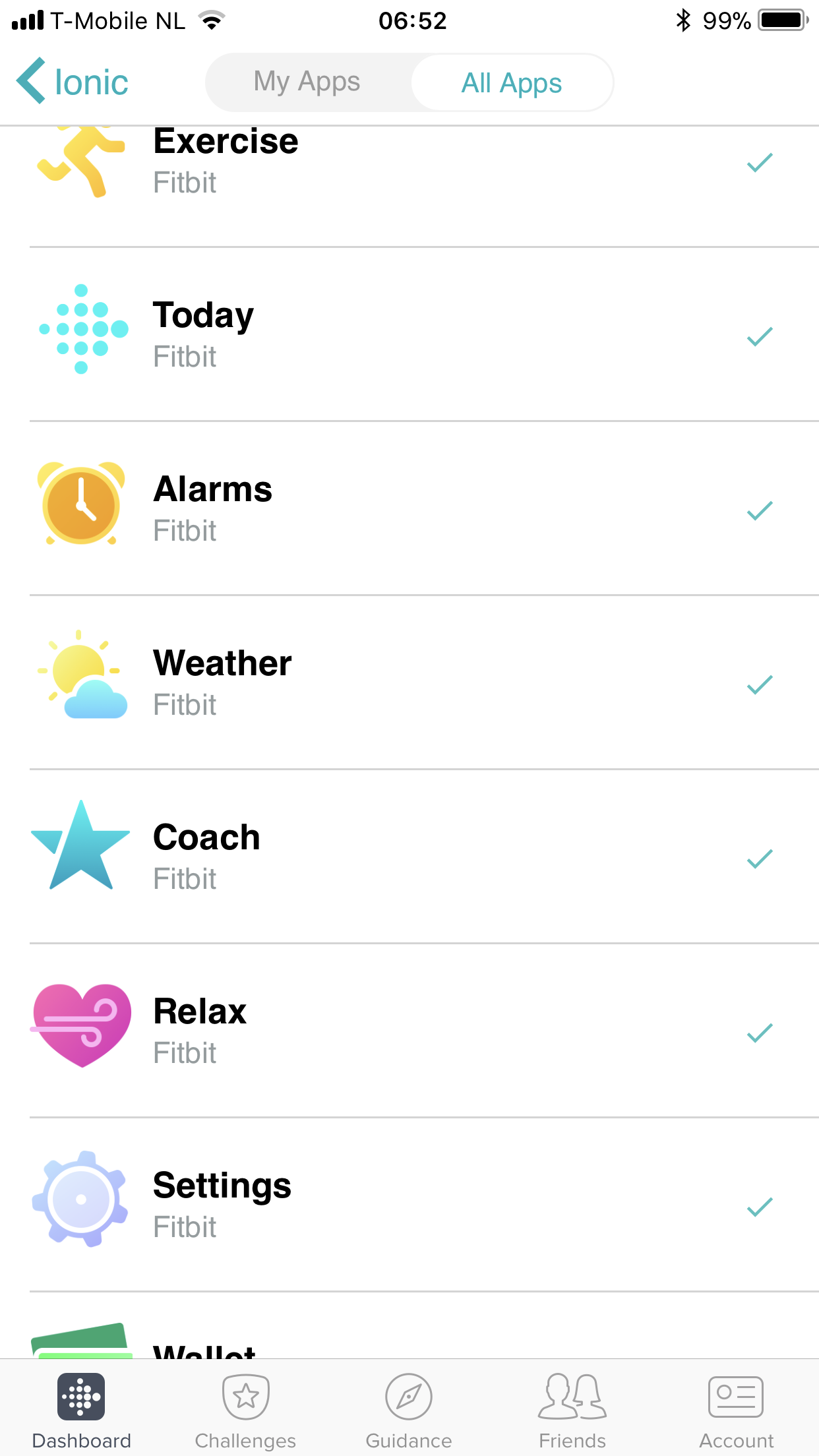 fitbit weather app not working