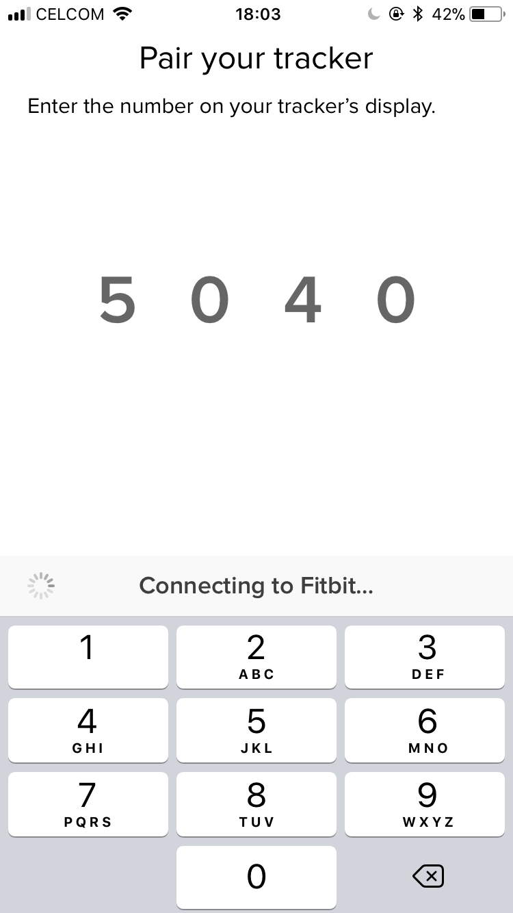Unable to set up Charge 2, stuck on 'Connecting to    - Fitbit Community