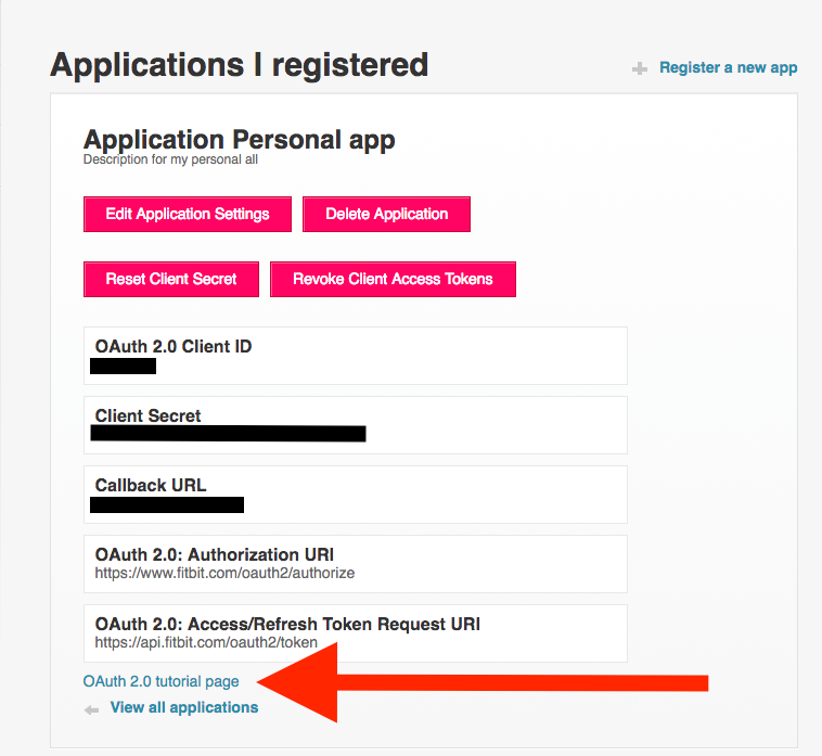 Make your OAuth2 0 request in less than 1 minute  - Fitbit Community